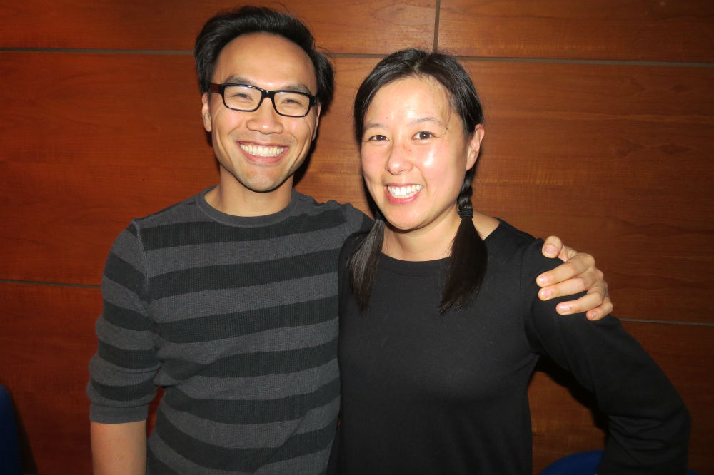 Michelle Tam and her husband, Henry Fong
