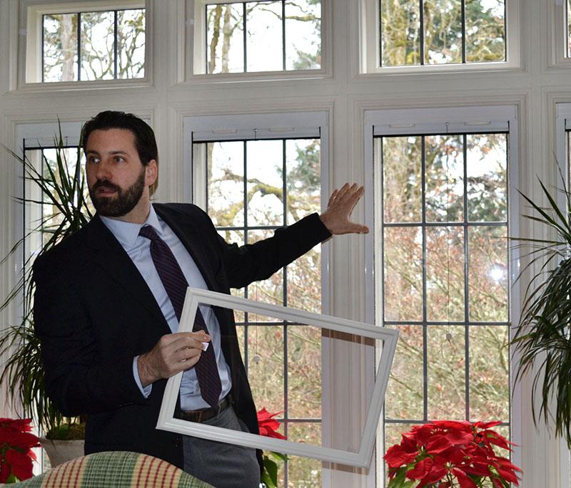 Russ indow windows mahonia hall