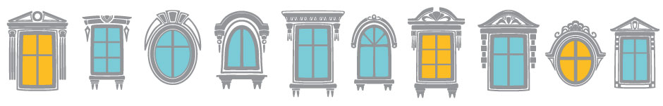 window shapes graphic