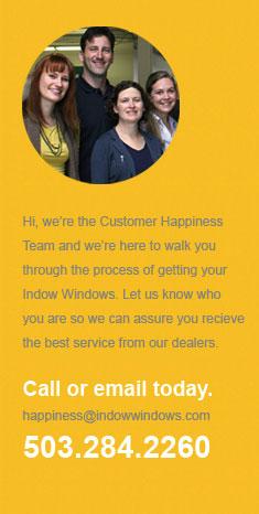 Customer Happiness - 503-284-2260
