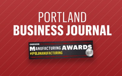 Portland Business Journal manufacturing award icon