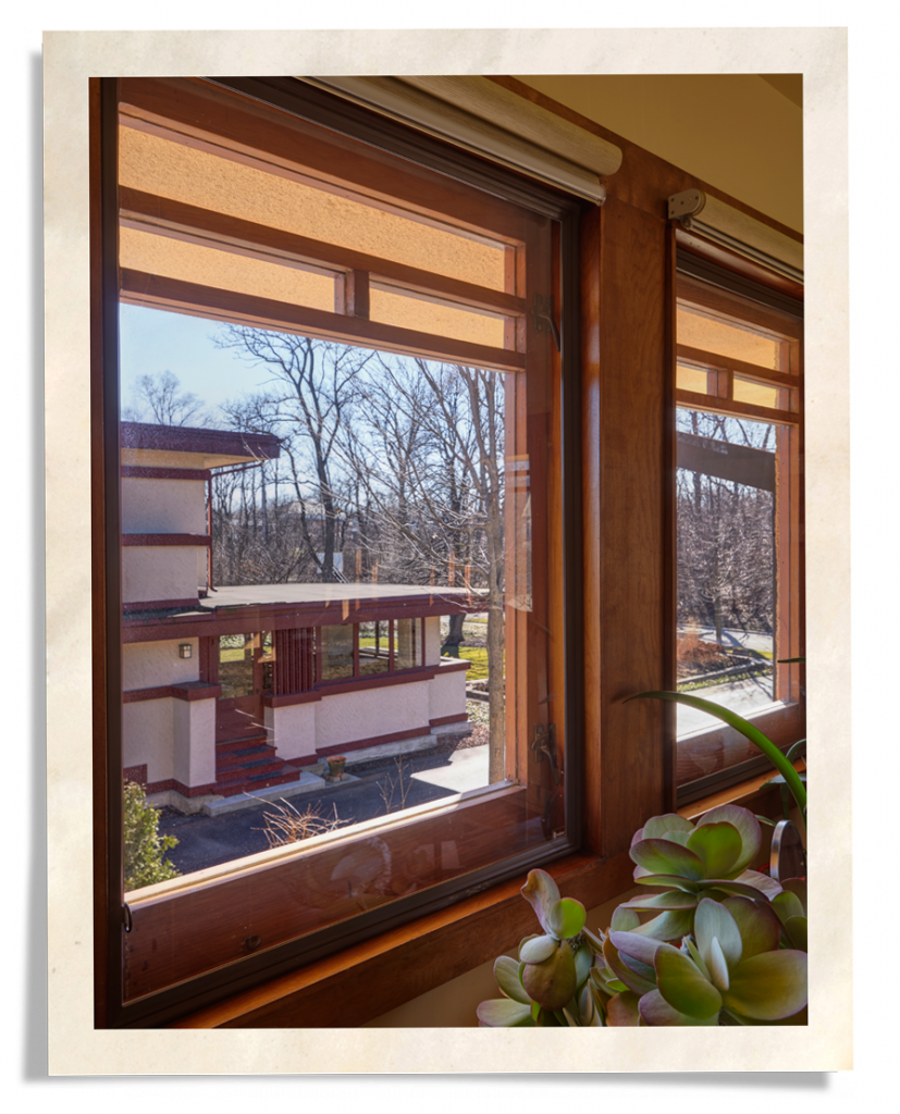 Window insulation for older frank lloyd wright home indow for Window insulation