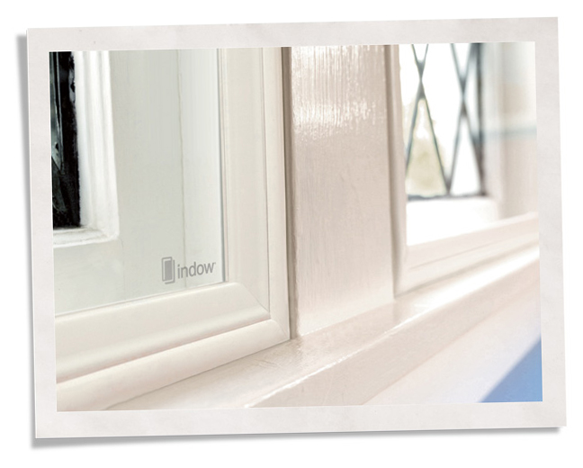 Close-up-vintage soundproof storm windows