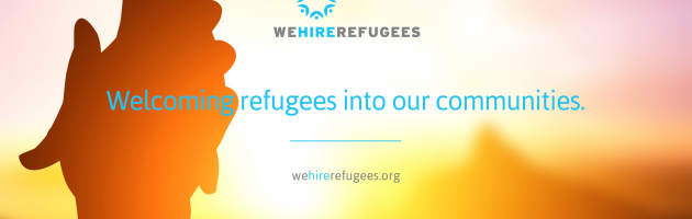 we hire refugees
