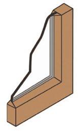diagram of single pane window