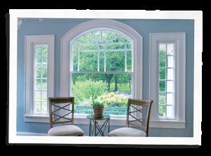 indow window insert in a bay window