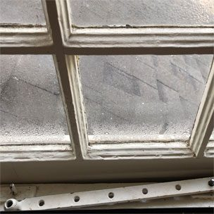 indow window condensation