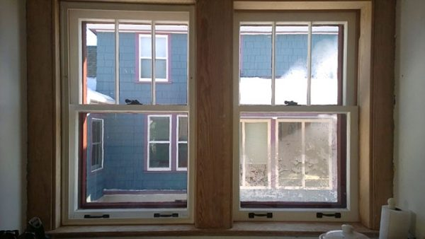 condensation on windows without window insert and no condensation on windows with Indow insert