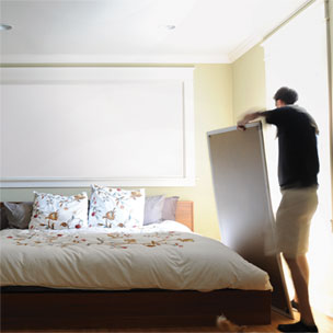 indow insert sleep panel solution