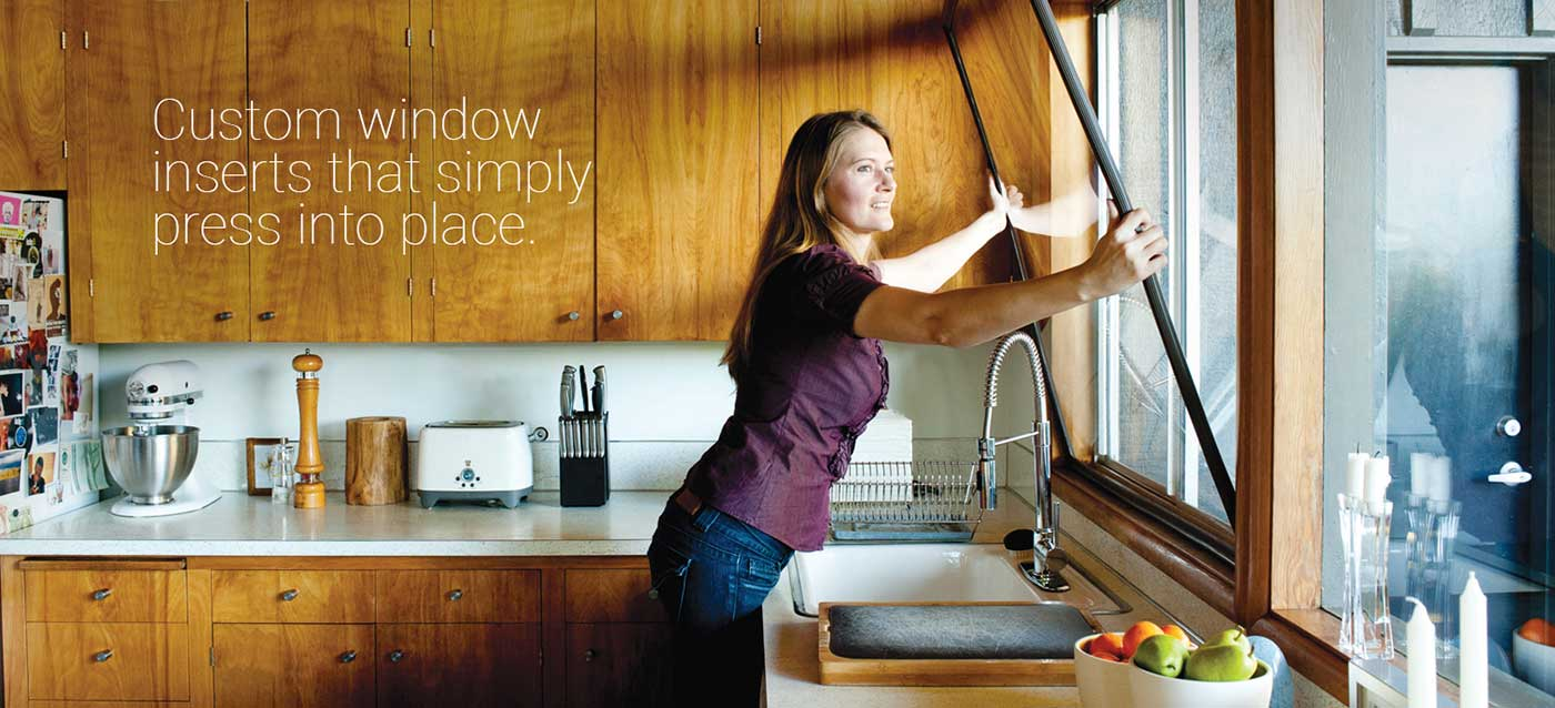 indow window insert