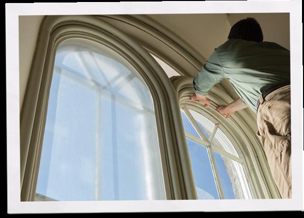 installing indow inserts in church single pane historic windows
