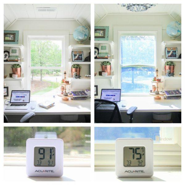 ways to block heat from windows: Indow window inserts