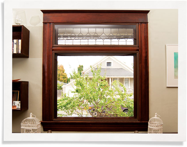 historic preservation - colonial style windows