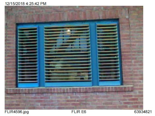 Customer Image of Indow Window Insert from Outside