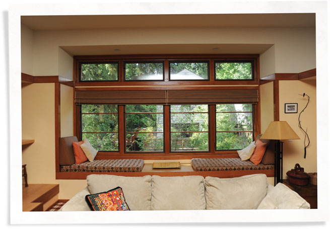 draft proofing windows in portland home with Indow inserts