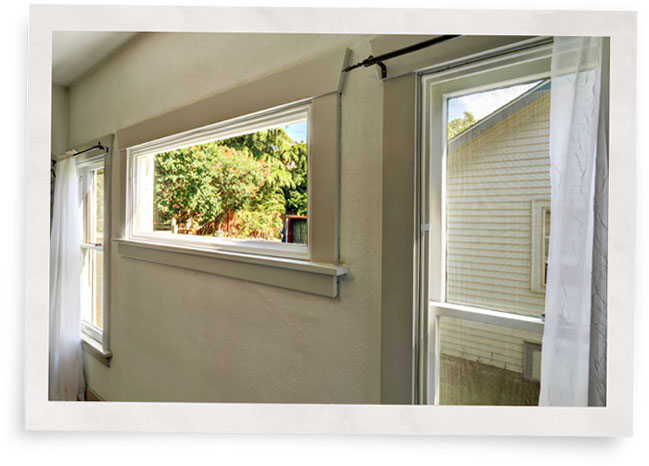 indow window inserts installed in historic home for energy efficiency
