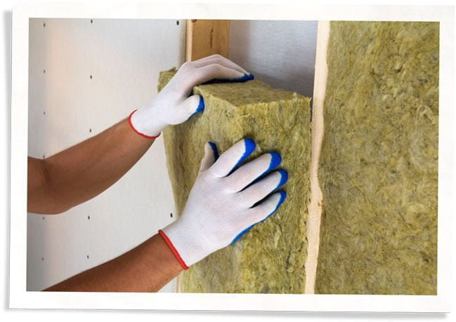 installing insulation for energy savings