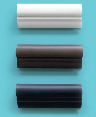 Indow window insert compression tube color samples