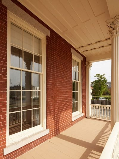 historic preservation of Italianate style windows with Indow inserts