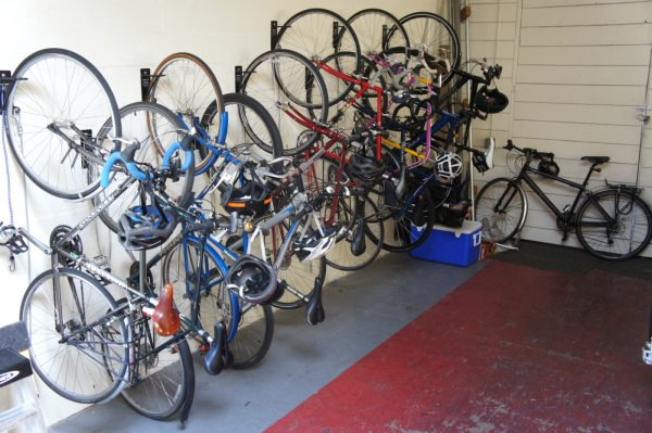 sustainability in the office through biking