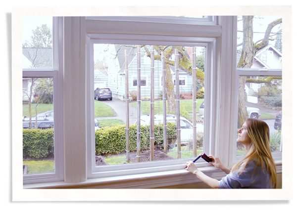 how to measure a window using our laser measure tool