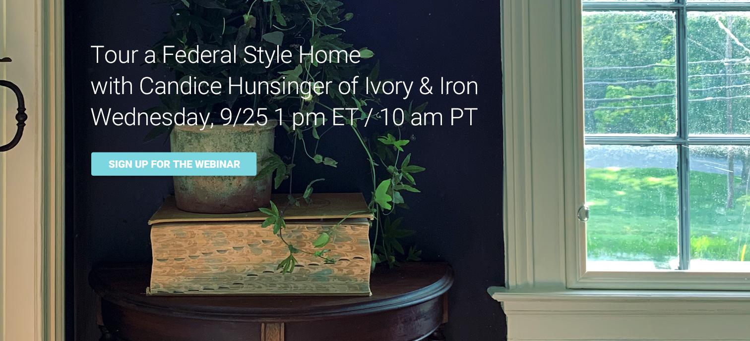 federalist home tour webinar