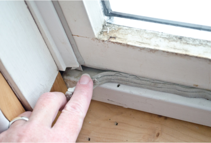 fix drafty windows with broken seals