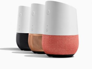 google home, a voice control device, one of the best gifts for musicians