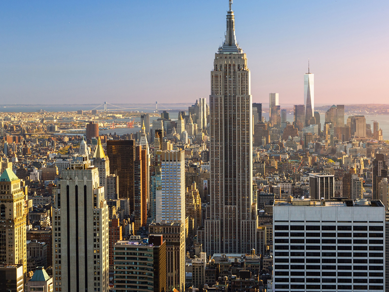 nyc skyline where citizen scientists track sounds to better assess noise complaints in nyc