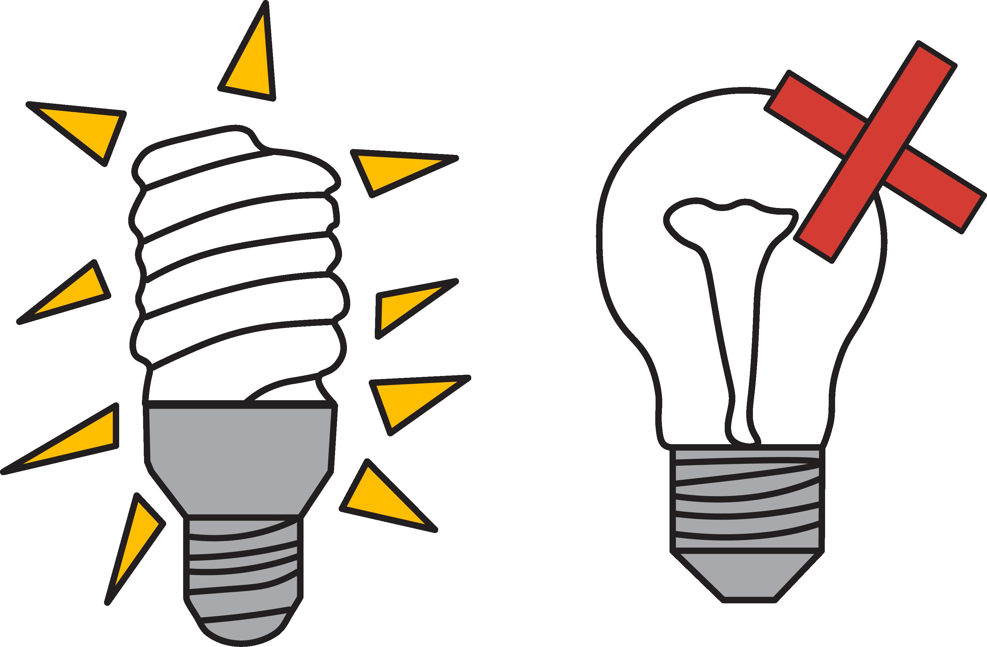 CFL light bulb vs incandescent: energy saving tips for kids