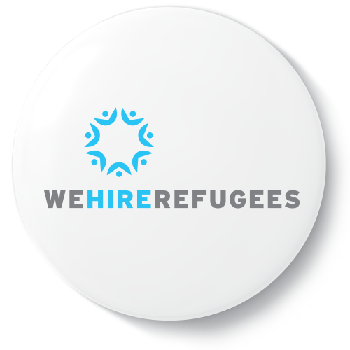 We Hire Refugees, one of the non-profits Indow started