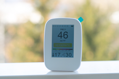 indoor air quality testing monitor