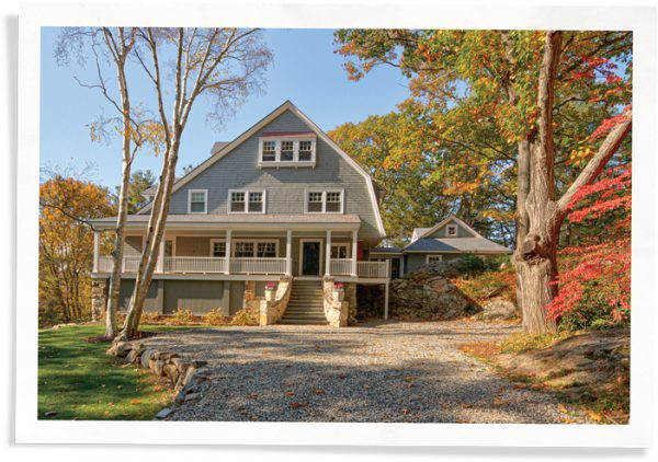 historic preservation cape anne shingle style home leaded glass windows